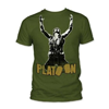 Platoon - Mens Sgt. Elias Fitted T-Shirt In Military Green