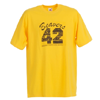 Inspired By Teen Wolf Men's Beavers 42 T-Shirt (Yellow)