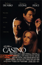 Casino - Theatrical release poster
